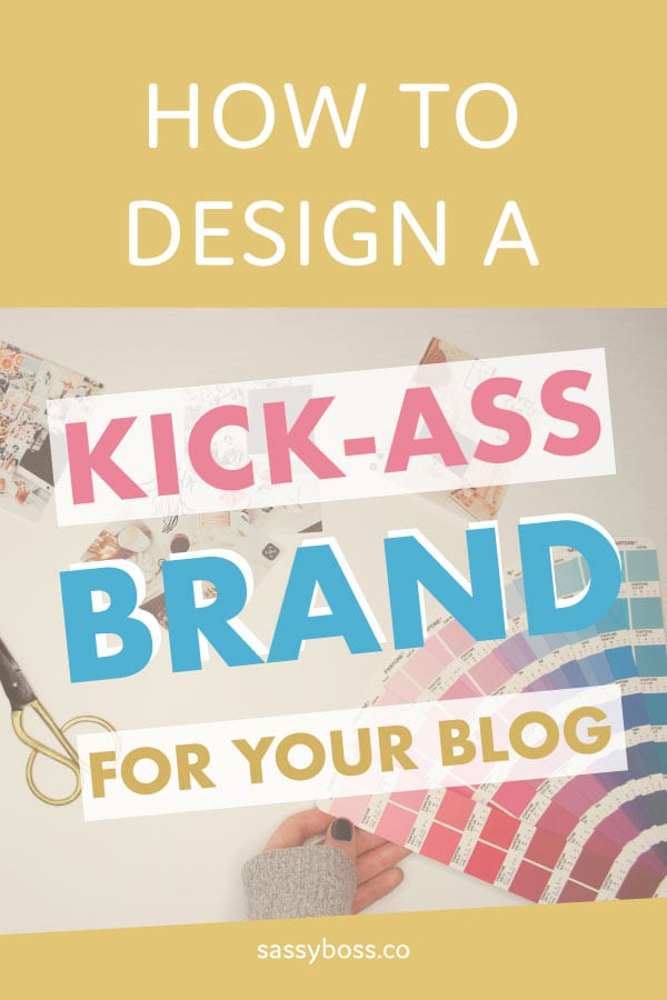 Learn to design your blog and logo. A DIY guide to designing a brand for your blog.