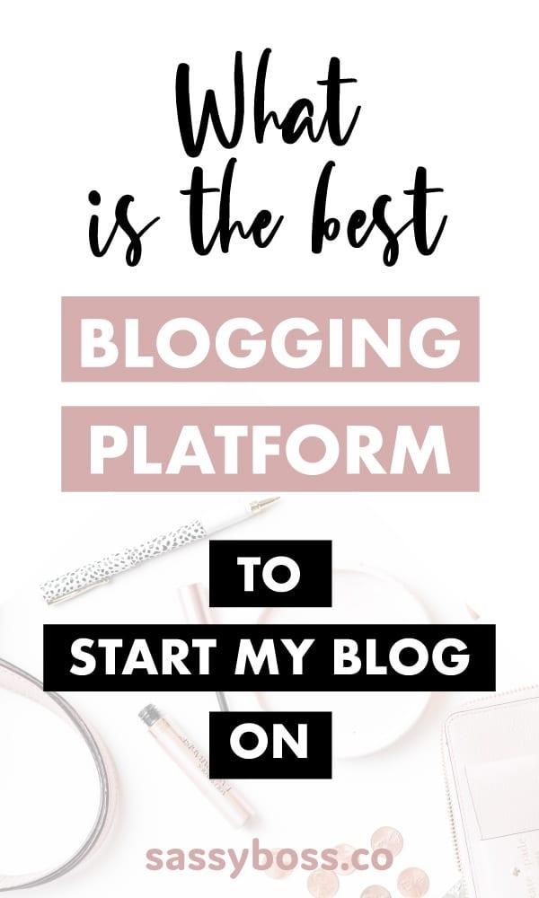 Best Blogging Platform for Beginners