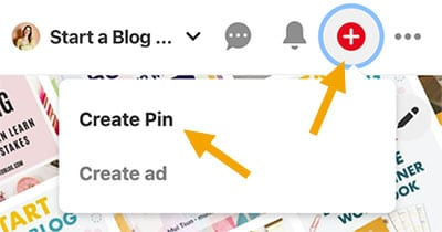 How to add a pin to Pinterest