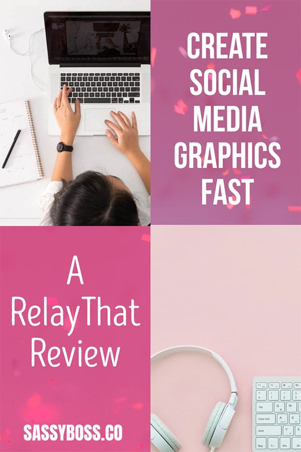 RelayThat review - create social media graphics fast