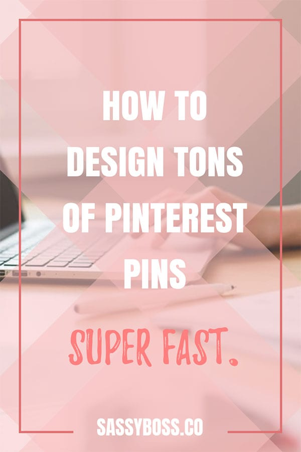 create pinterest pins fast