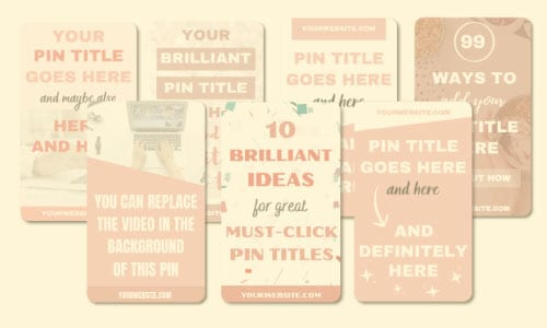 how to edit Pinterest templates in Canva