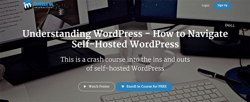 best free blogging course for WordPress