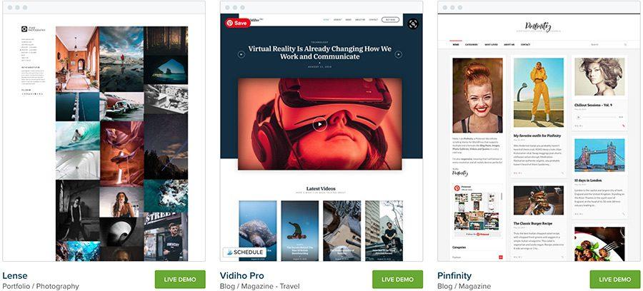 CSS Igniter WordPress Themes