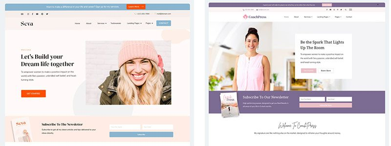 wordpress theme packages